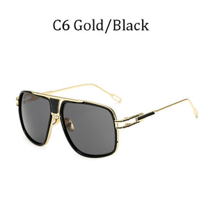 Fashion Big Frame Sunglasses Men Square Fashion Glasses for Women Gradient lens Retro Sun Glasses Vintage Gafas Oculos male