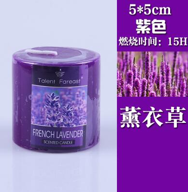 Cylindrical Aromatherapy Smokeless Candle Romantic Scented candles Fragrance Aroma Air Cleaner Wedding Birthday gift