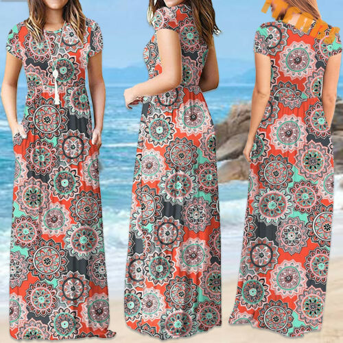 Long Sleeve Floral Maxi Dress Clothing