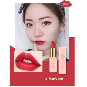 Matte Sexy Nonstick Cup 6 color Long Lasting Waterproof Makeup Lipstick silky texture durable make up Beauty Cosmetic