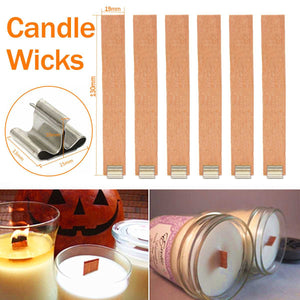 100/50pcs Large 19x130mm Scented Candles