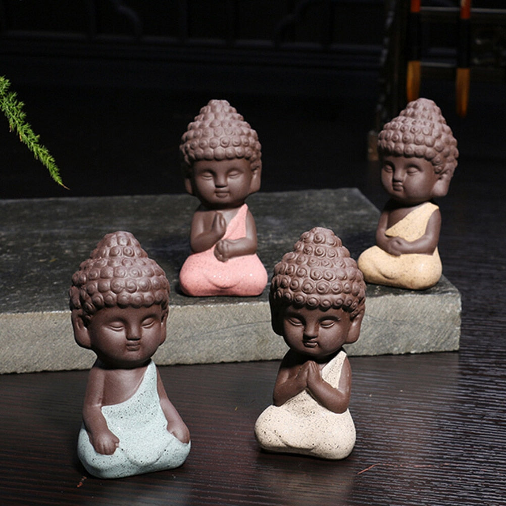 1pc New Ceramic Buddha Statue