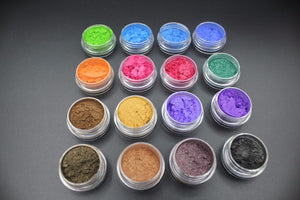 16pcs Mica Pigment Powder  Vegan