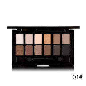 12 Colours Pro Nude Earth  Eye Shadow Palette
