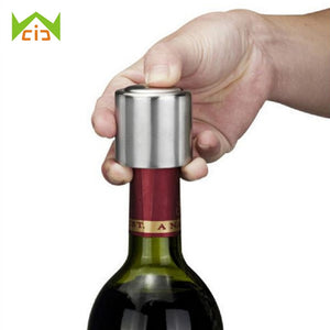 WCIC Stainless Steel Beer Bottle Opener Automatic Bottle Openers Beer Soda Cap Red Wine Bottle Opener Bar Kitchen Tools