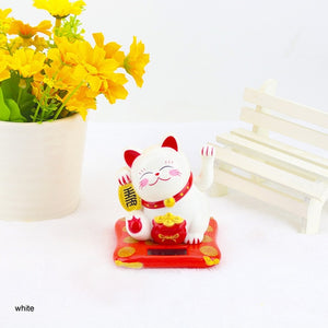 chinese Lucky Wealth Waving Cat Gold Waving Hand Cat Home Decor Welcome Waving Cat sculpture statue decor