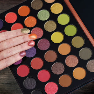 New 63 Colour Makeup Eyeshadow