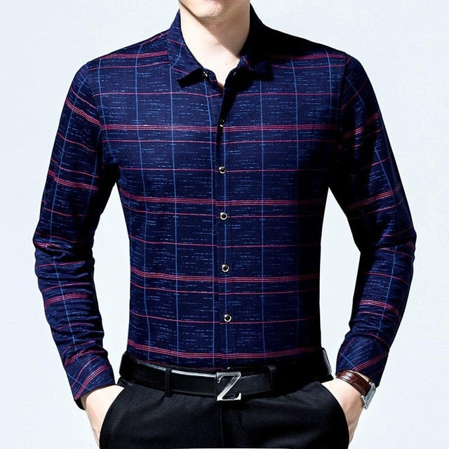 Business Slim Fitted Shirts