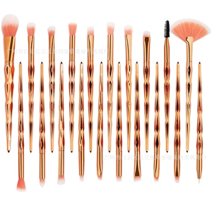 20PC Diamond Makeup Brushes Set