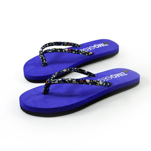 Sleeper #501 2019 NEW FASHION Women Summer Floral Sponge Cake Slip-resistant Flip-flops Sandals Shoes Beach casual Free Shipping