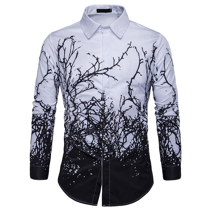 Black White Long Sleeve