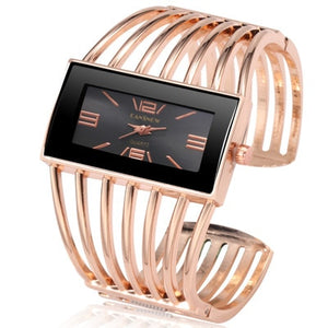 Women's Watches Bangle Bracelet Quartz Watch Women Silver Wrist Watch Rose Gold Quality Ladies Clock reloj mujer zegarek damski