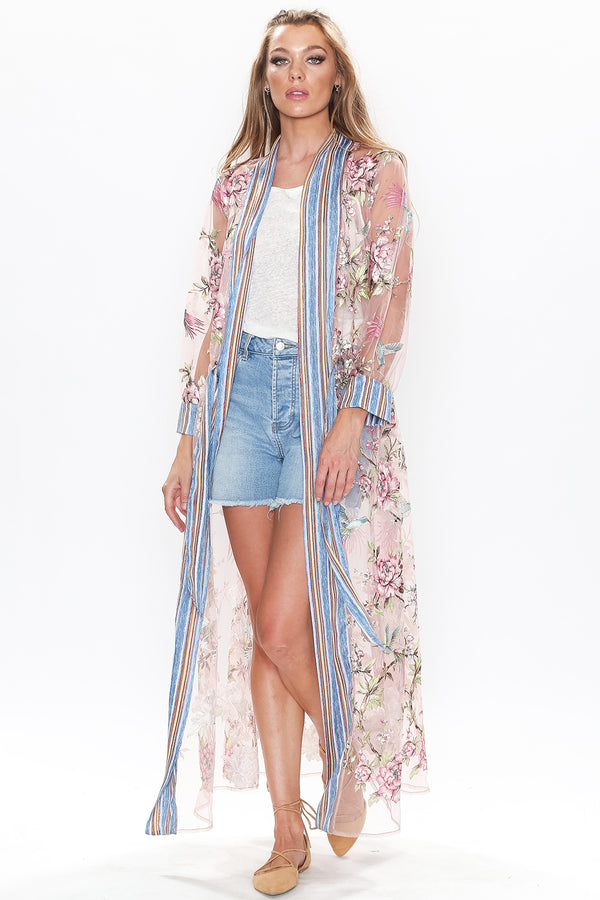 Where Have You Been Maxi Nonclosure Duster