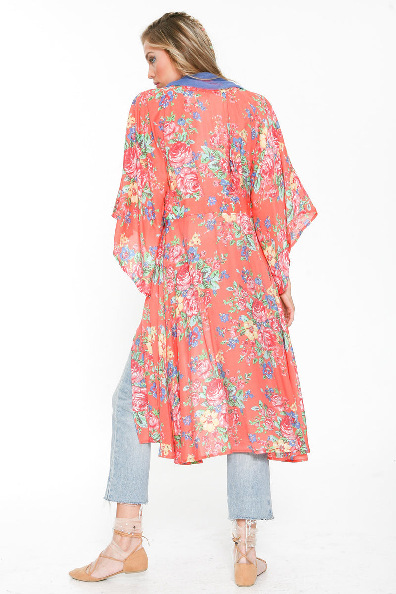 Thousand Kisses Deep Kimono Dress