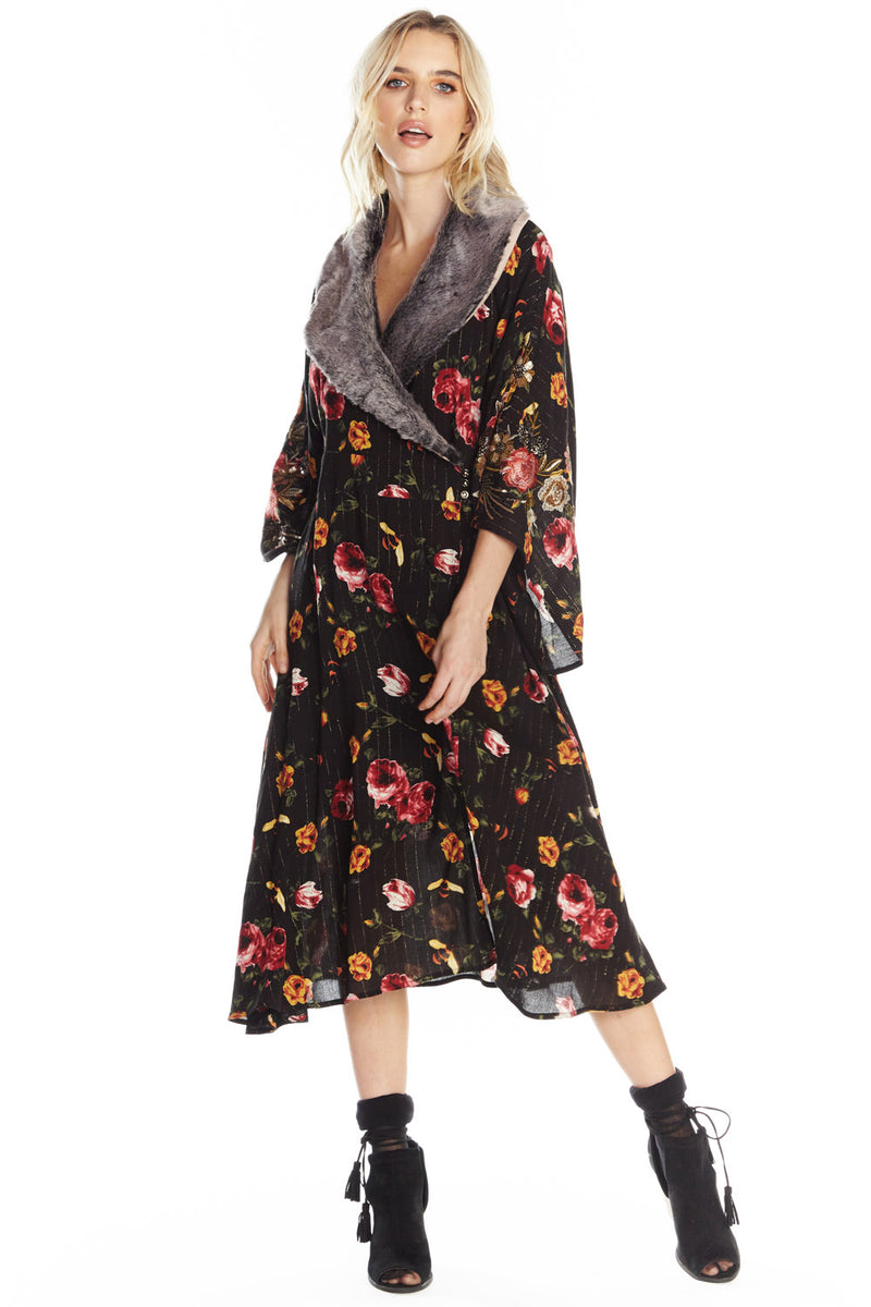 Charlene Princess Of Monaco Kimono Dress