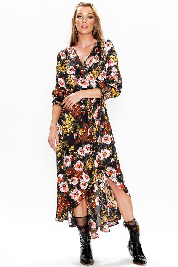 Savannah wrap Dress