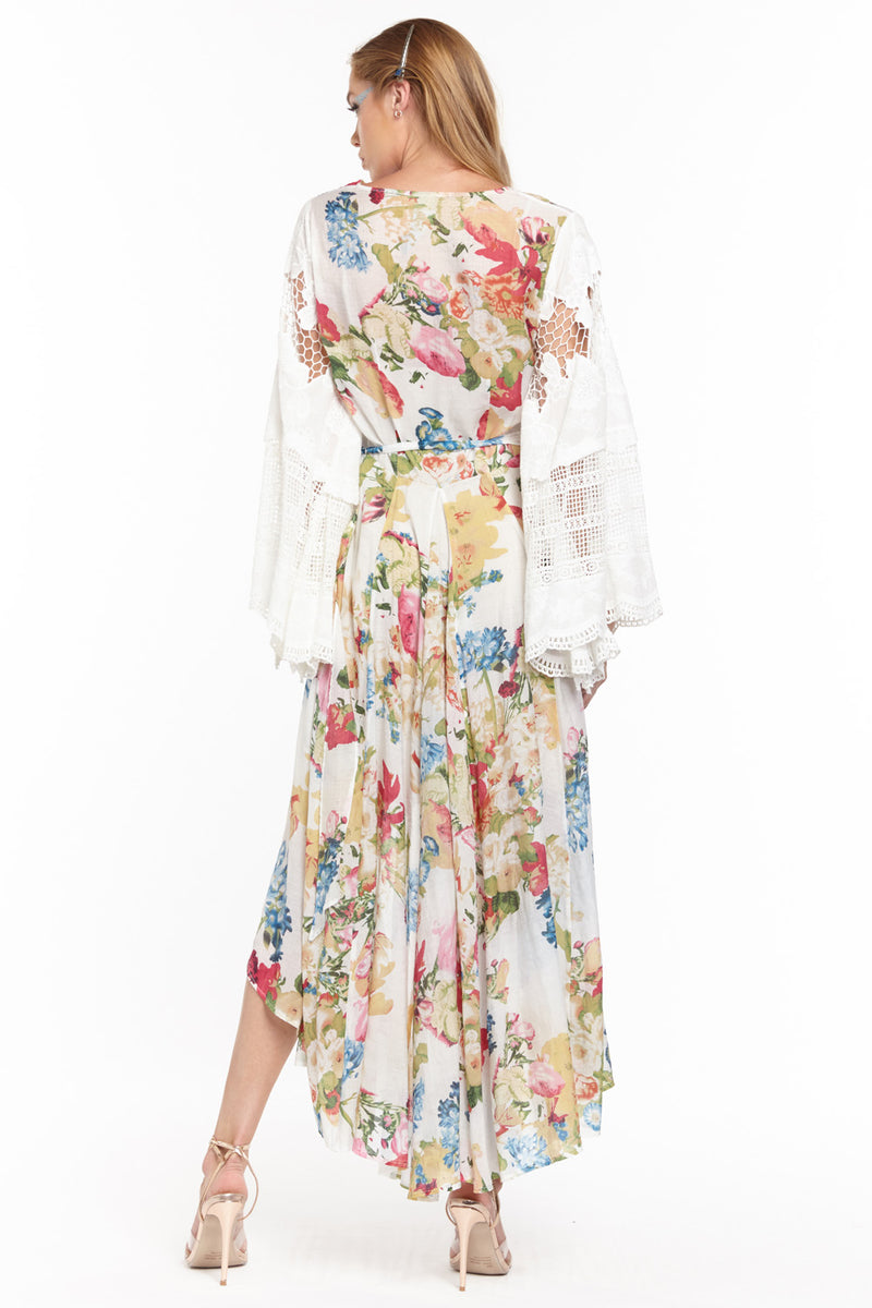 The White Queen Maxi Wrap Dress