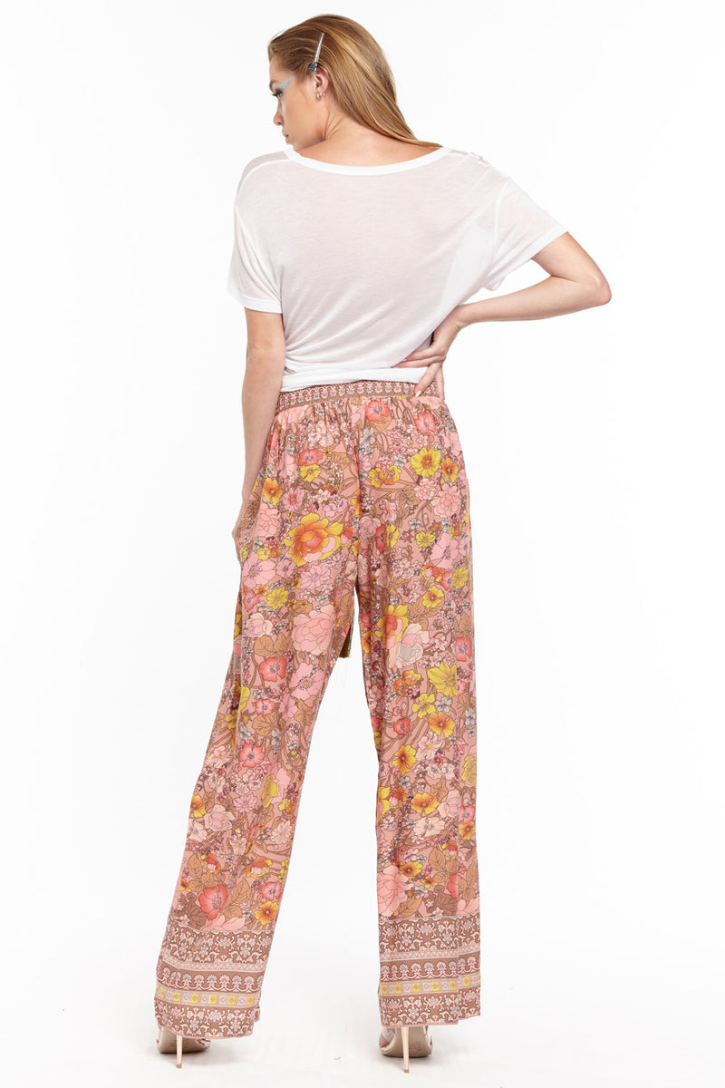 Rose Medallion PJ Pants