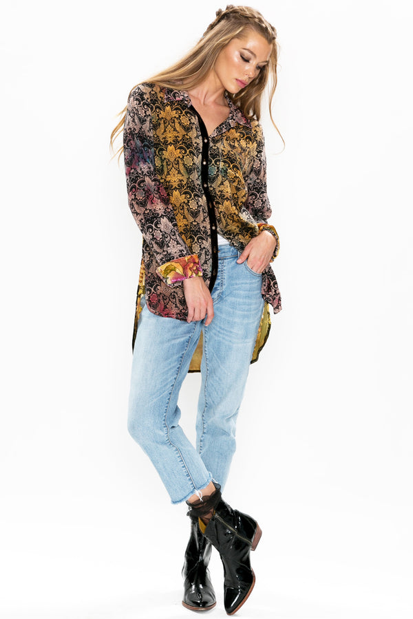 Midnight Floral Shirt