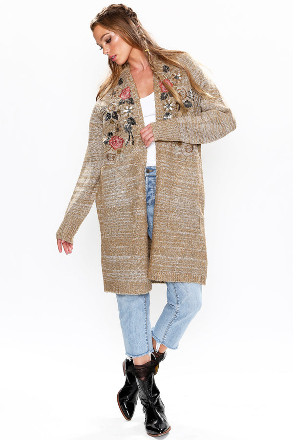 Lady May Sweater Long Cardigan