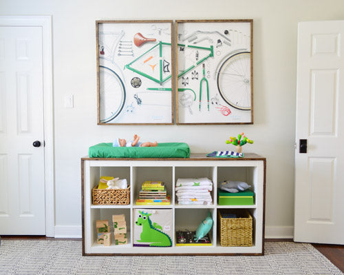 Dress This Next Expedit changing table