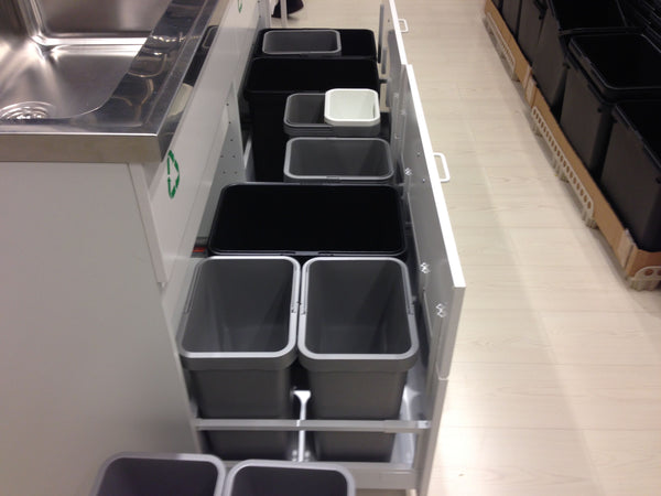 What 39 s really new about the ikea sektion kitchen system panyl explore - Ikea pull out trash bin ...
