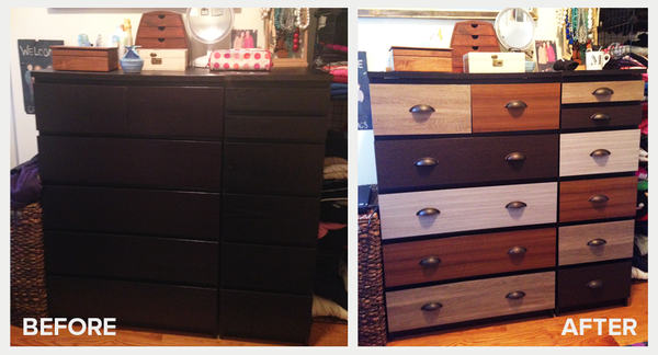 Molly's MALM PANYL before and after