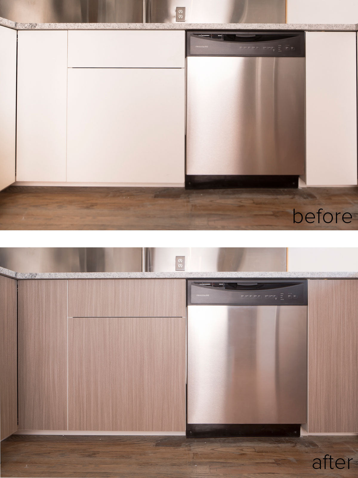 Before, During, After: PANYLing An IKEA SEKTION Kitchen