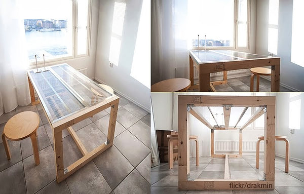 dining table hack