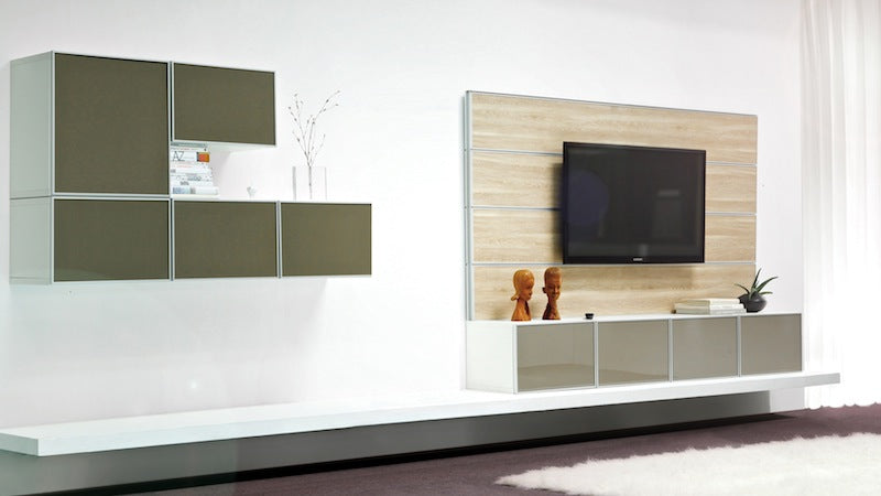 Tone home mutli colored cabinetry can take a room high or low panyl - Console blanche ikea ...