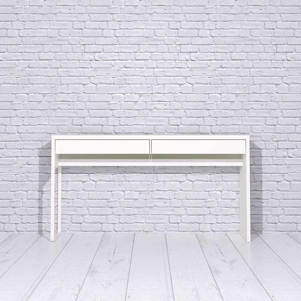 Micke 2-drawer desk