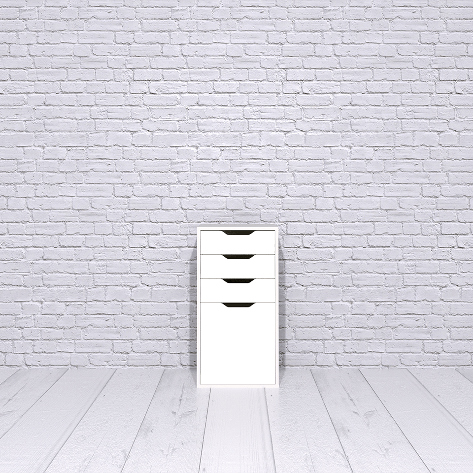 IKEA Alex | storage unit with drop file