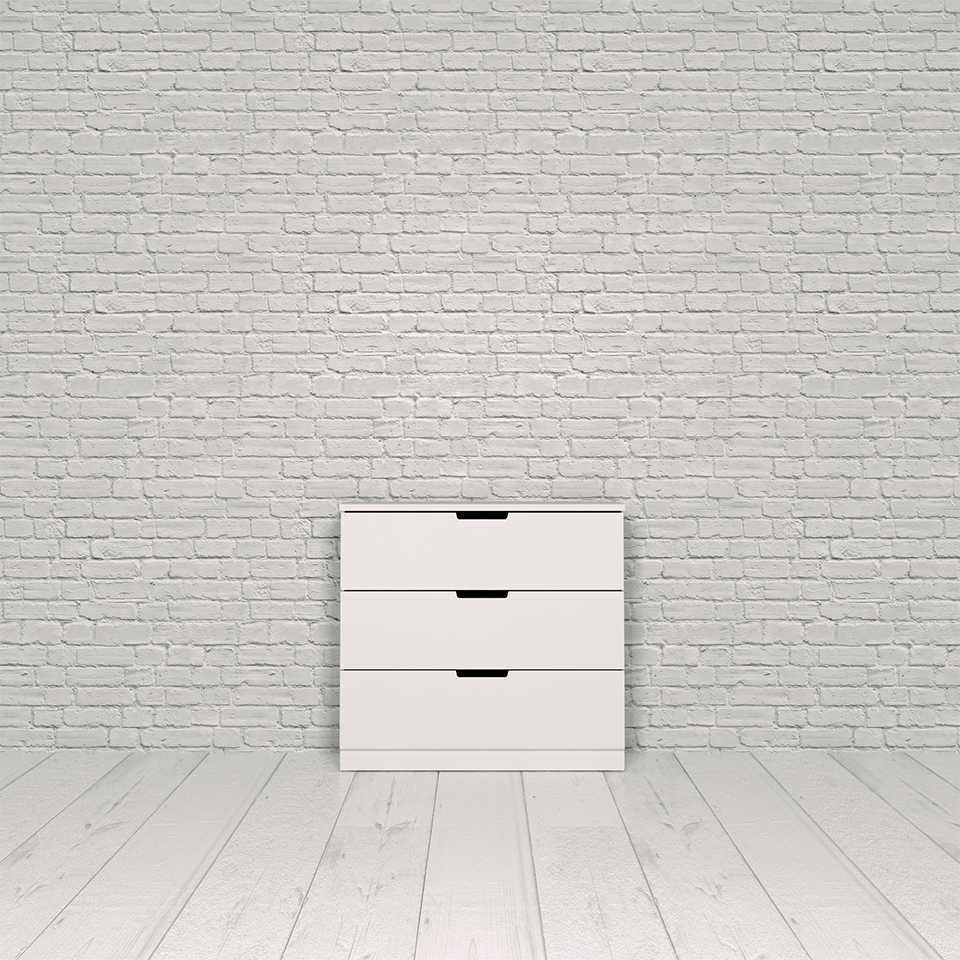 Nordli chest, 3-drawer
