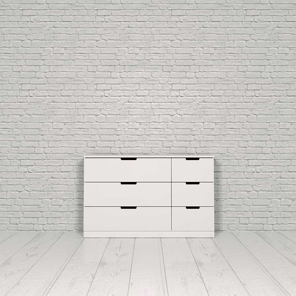 Nordli chest, 6-drawer