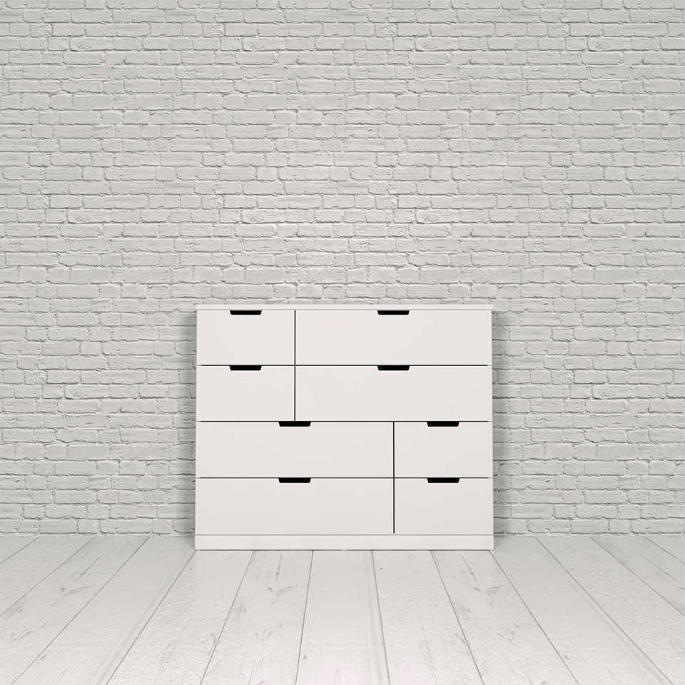 Nordli chest, 8-drawer
