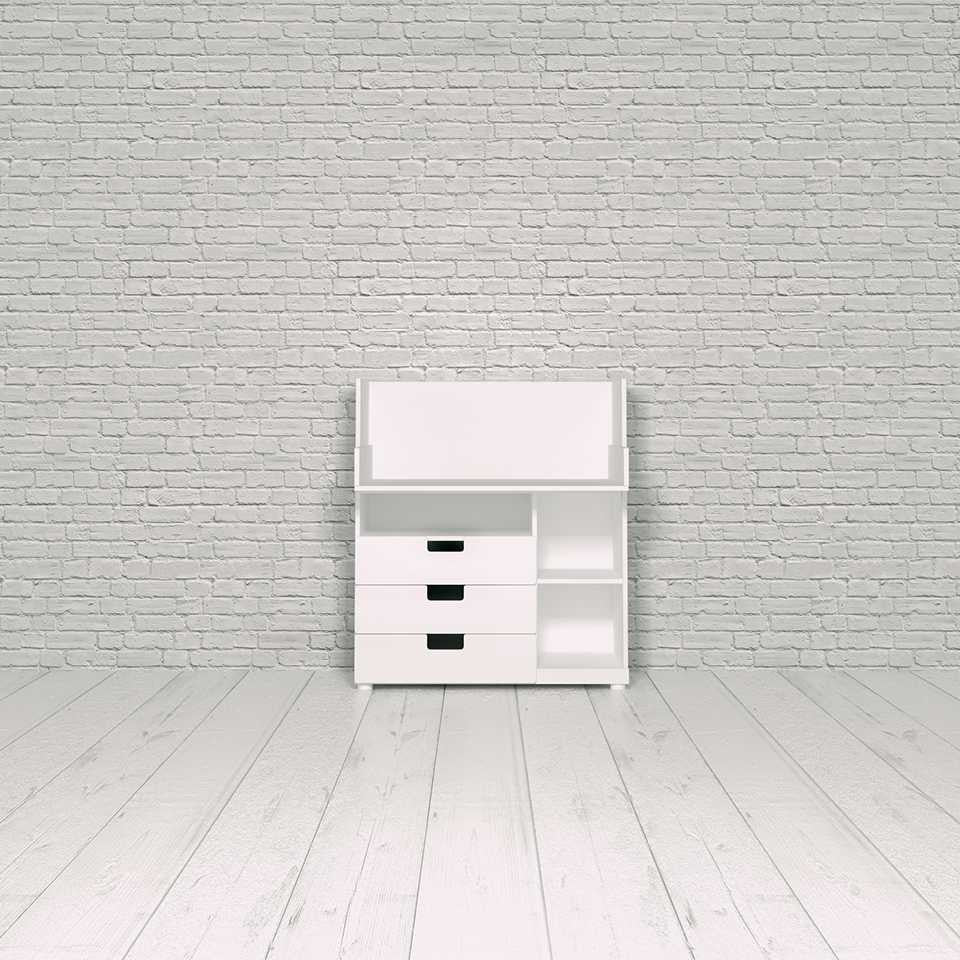 Stuva desk, 3 drawers