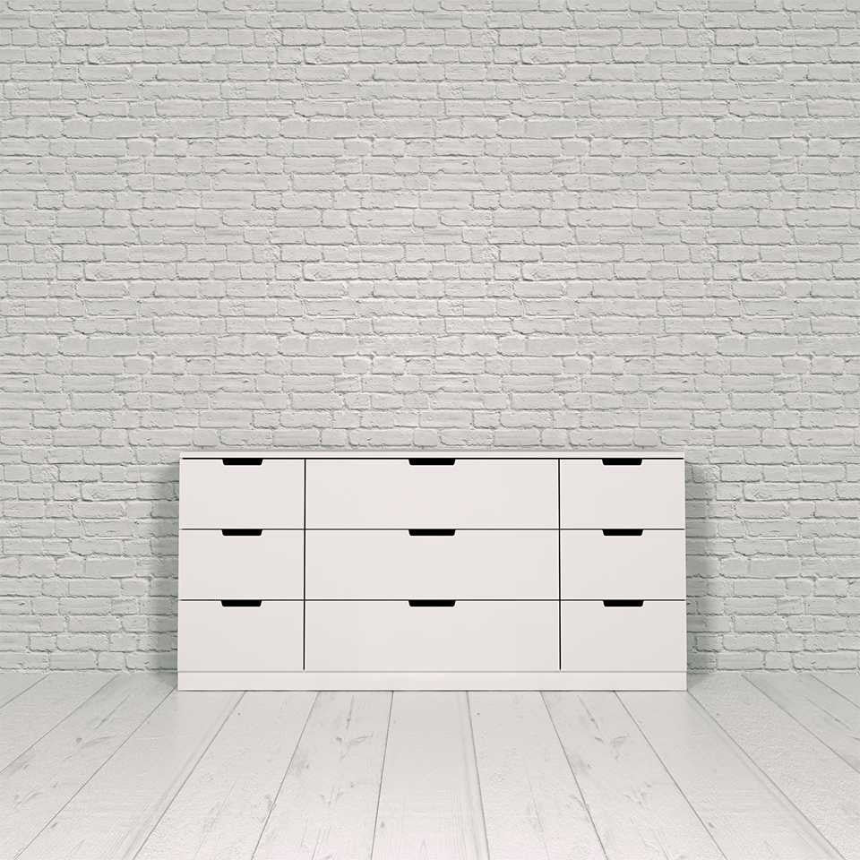Nordli chest, 9-drawer