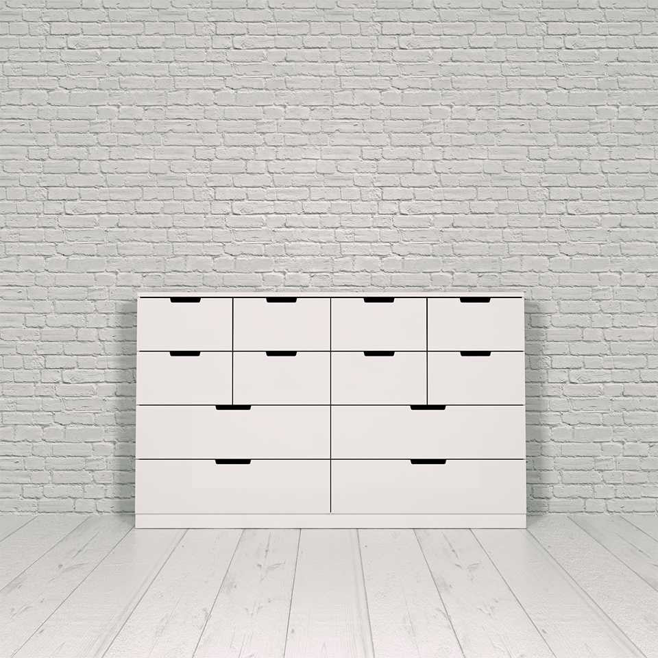 Nordli chest, 12-drawer