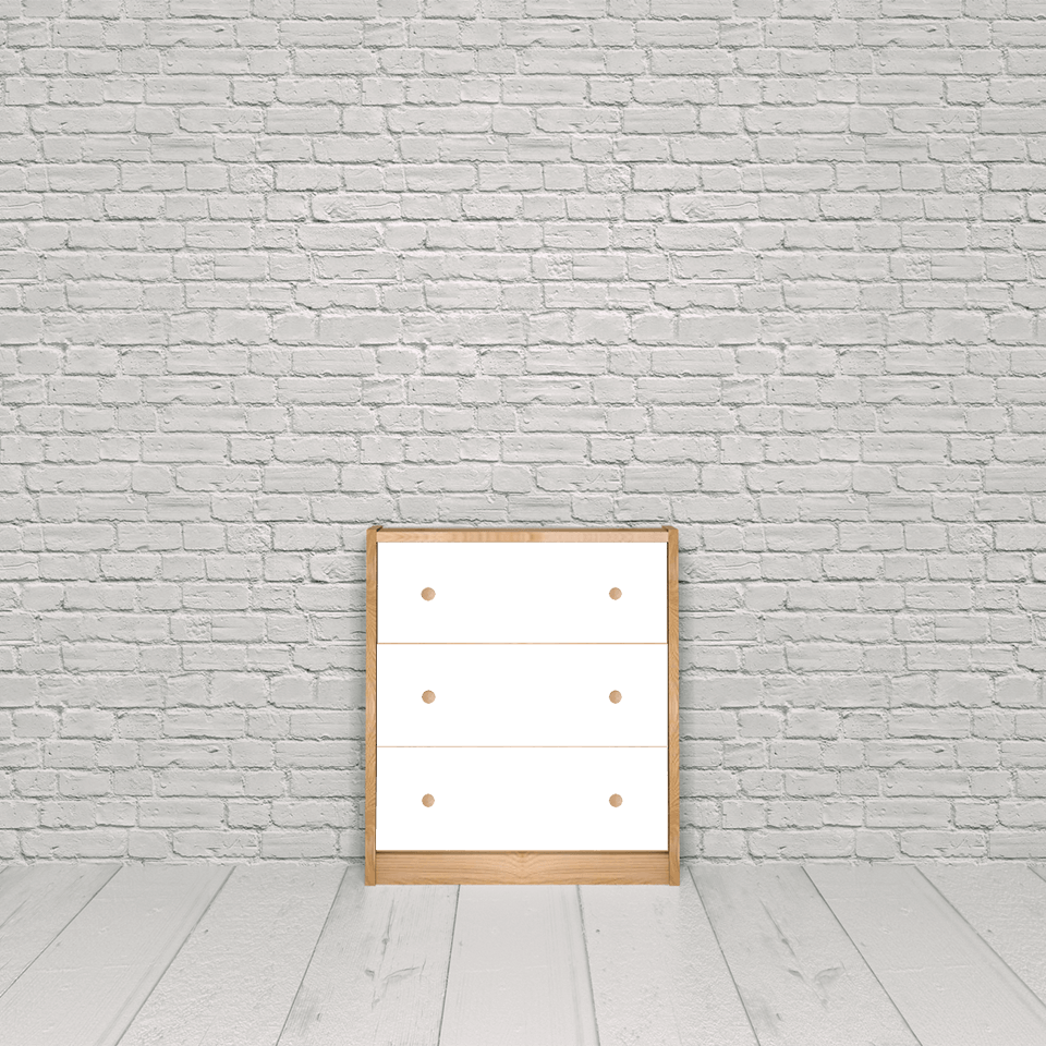 Rast 3 drawer chest
