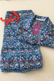 Summer Strawberry Thief Shorty PJ set (Liberty Lawn)