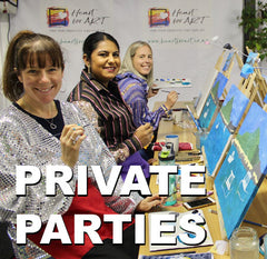 Heart for Art Fun social painting events for groups