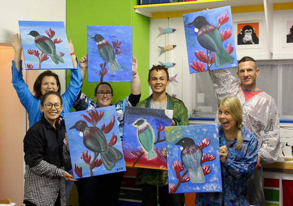 Heart for Art Social Painting Fun