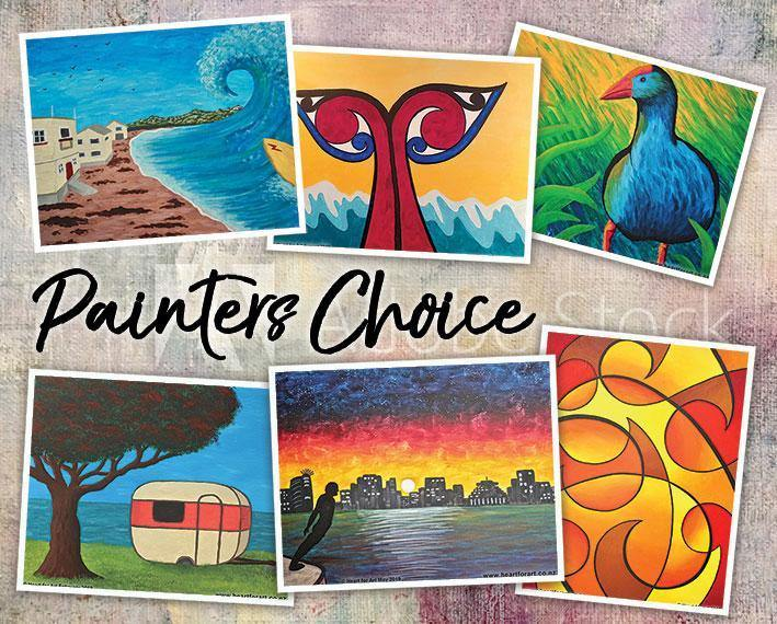 Heart for Art Paint Parties - Create your own painting