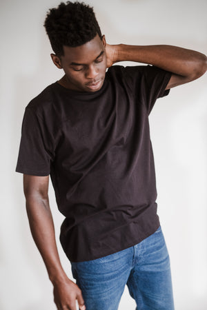 Black Fairtrade Organic Cotton T-Shirt