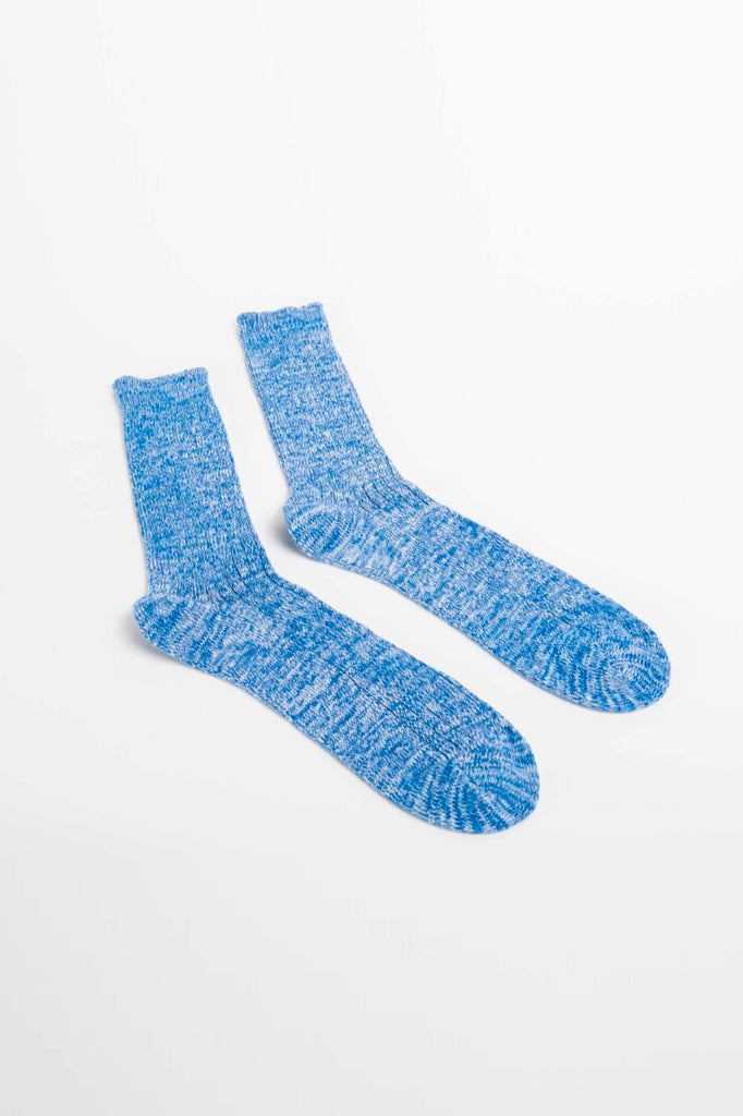 BLUE TWISTER ORGANIC SOCKS
