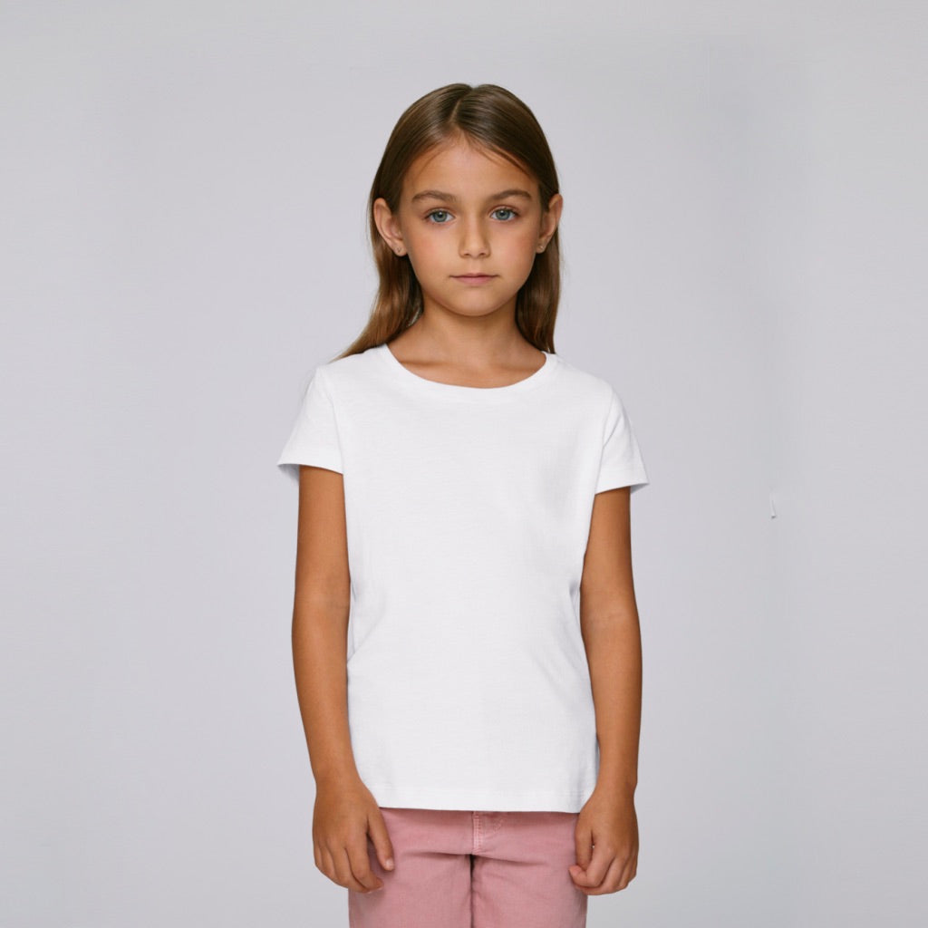 Kids Organic T-Shirt White