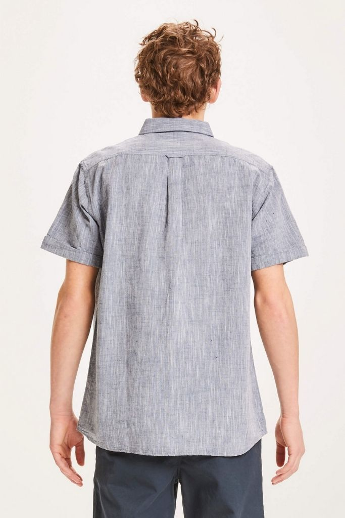 LARCH SHORT SLEEVE LINEN SHIRT