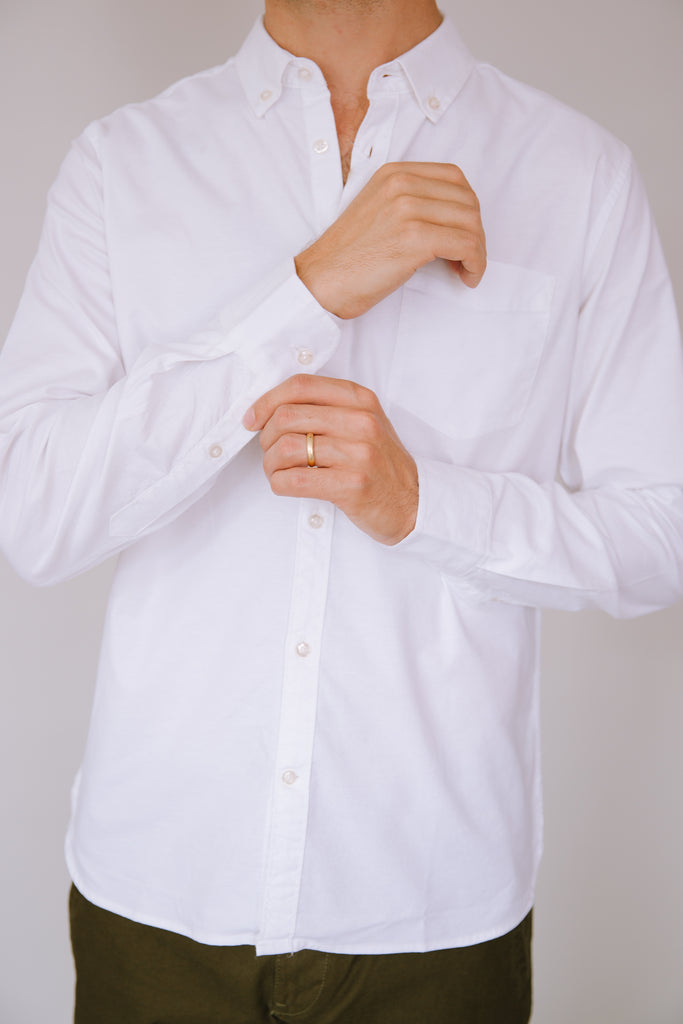 OXFORD SHIRT WHITE 2020
