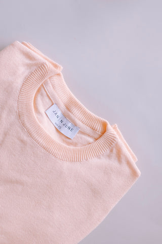 CALI ORGANIC COTTON KNIT CANTALOUPE