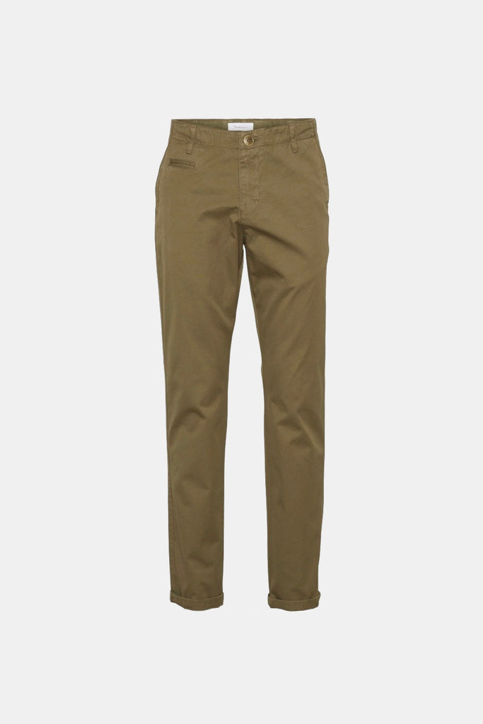 CHUCK THE BRAIN REGULAR CHINO BURNED OLIVE